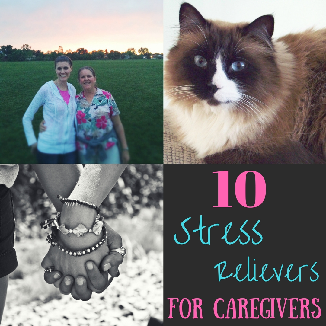 Here are some of my top stress relievers that have helped me in stressful  times during the last few years.
