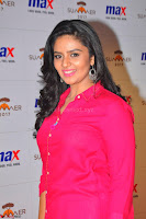 Sree Mukhi in Pink Kurti looks beautiful at Meet and Greet Session at Max Store (51).JPG