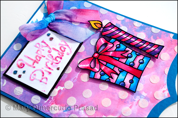 Awash With Color Elizabeth Craft Designs And Tombow Blog Hop