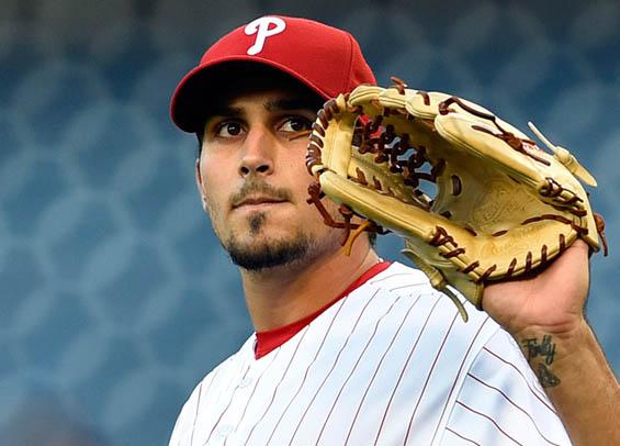 Philadelphia Phillies pitcher Zach Eflin