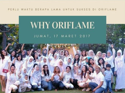 WHY ORIFLAME?