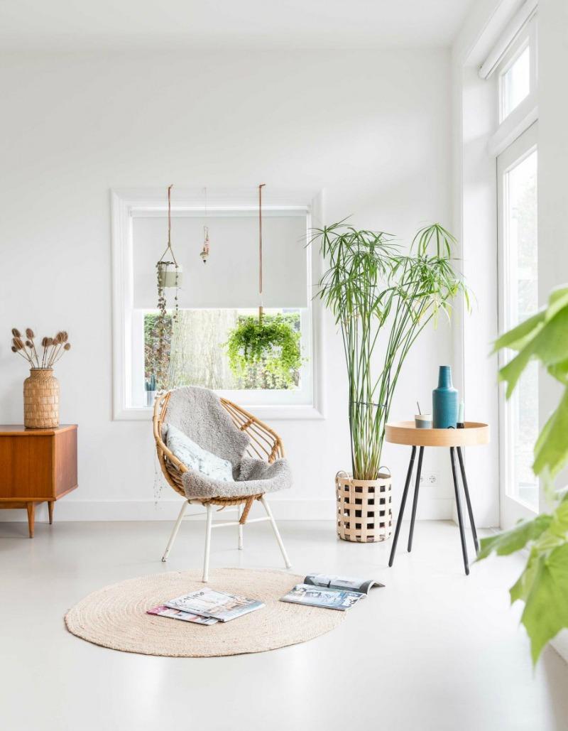 Una casa n rdica repleta de plantas la bici azul blog - Plantas del interior ...