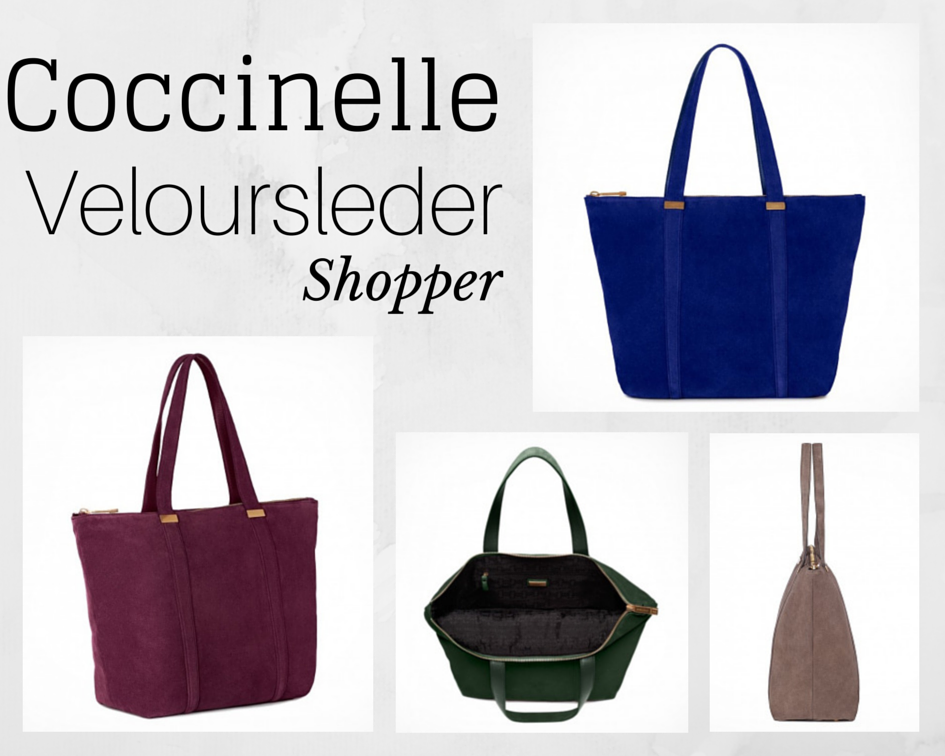 Coccinelle Veloursleder Shopper