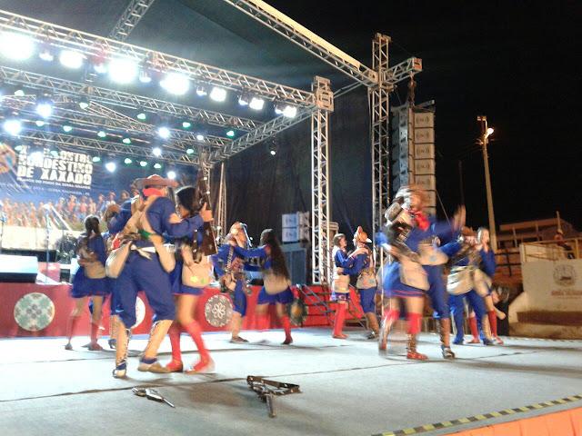 Grupo de Teatro e Xaxado Estrelas do Sertão da cidade de Piranhas realizam apresentações no  XII Encontro Nordestino de Xaxado em Serra Talhada/PE