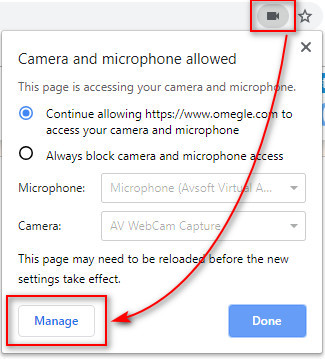 Manage Microphone on Omegle to use with voice changer