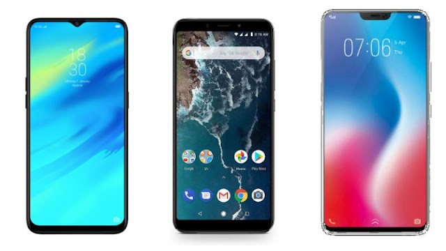 How much better is Xiaomi Mi A2 and Vivo V9 Pro Realme 2 Pro?