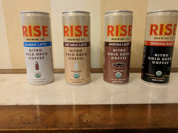 Wake Up with RISE Brewing Nitro Cold Brew Coffee