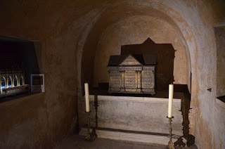 Toulouse. Basílica de Saint-Sernin. Cripta inferior