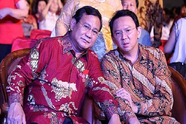 Ditolak Saat Kampanye, Ini Pesan Prabowo untuk Ahok