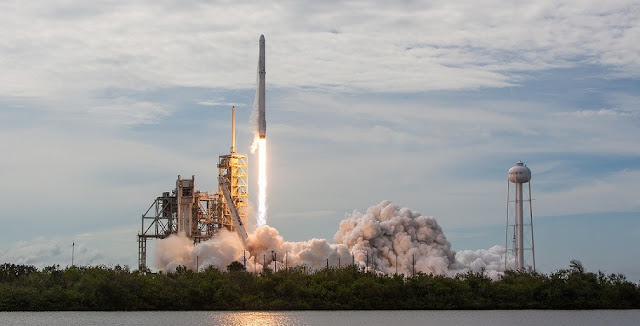 The Falcon 9 with the CRS-11 Dragon launches from Pad 39A. Photo Credit: SpaceX