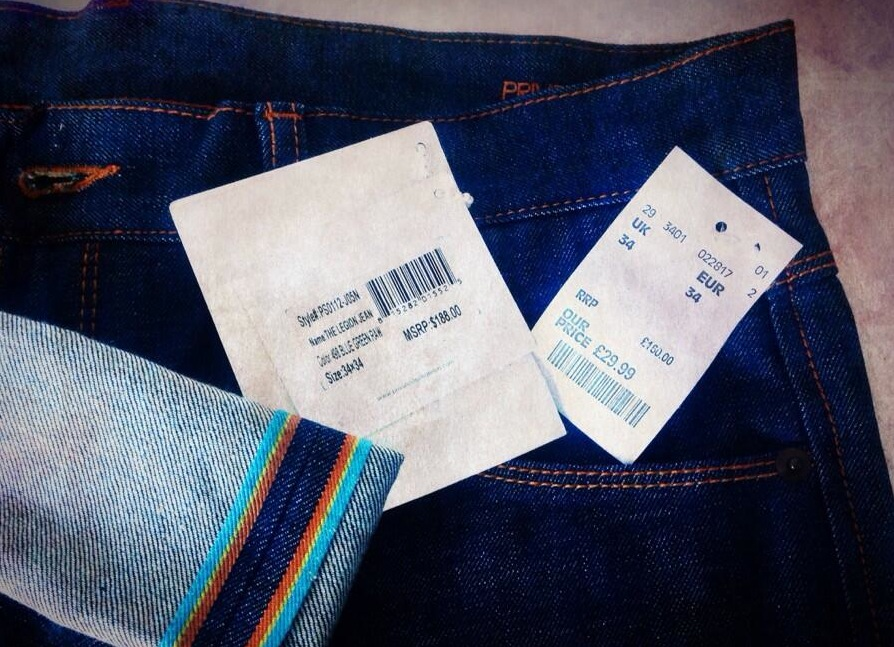 ef61a196f9d Did I feel misled by the wrong RRP? my answer is no. I know too well that  finding a brand new pair of selvedge denim at £29.99 is virtually  impossible.