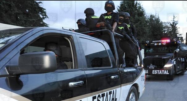Camionetas de seguridad Edomex