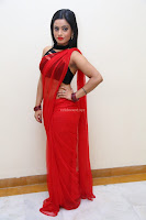 Aasma Syed in Red Saree Sleeveless Black Choli Spicy Pics ~  Exclusive Celebrities Galleries 046.jpg