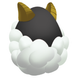 Appearance of Sheep Dragon when egg