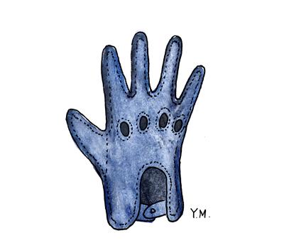 glove by Yukié Matsushita