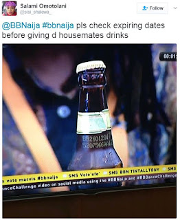 #BBNaija: Housemates Being Served Expired Drinks By Big Brother?