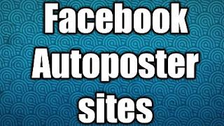 Facebook autoposter sites