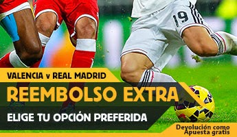 betfair reembolso 25 euros Valencia vs Real Madrid 4 enero