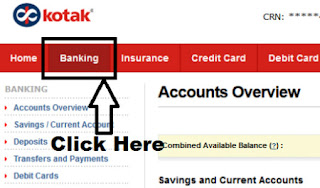 how to link aadhaar card with kotak bank account online