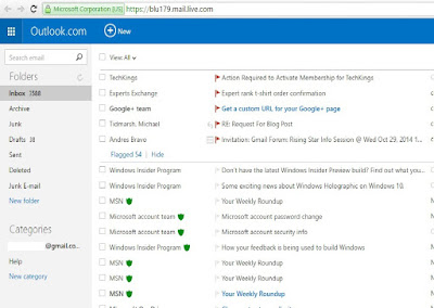 Exporting the Contacts from Windows Live Hotmail to vCard Format