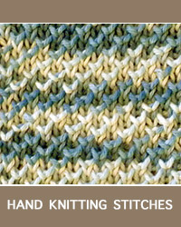 Learn Pearl Brioche Pattern with our easy to follow instructions at HandKnittingStitches.com