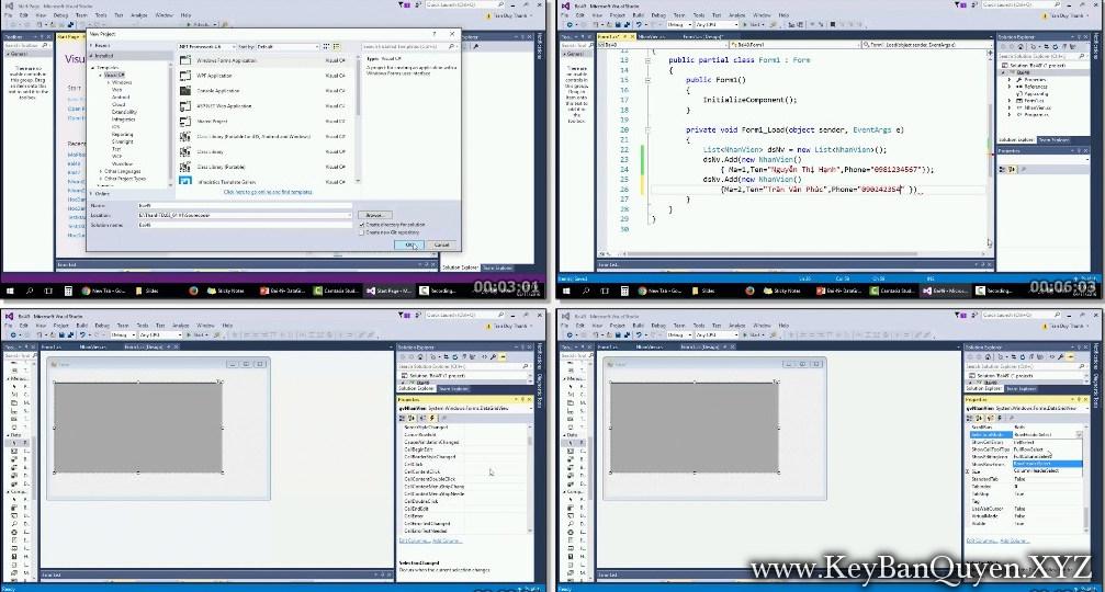 Khóa học Lập trình C# trong 5 tuần - Nâng cao