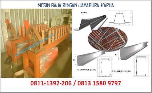 mesin baja ringan Jayapura Papua