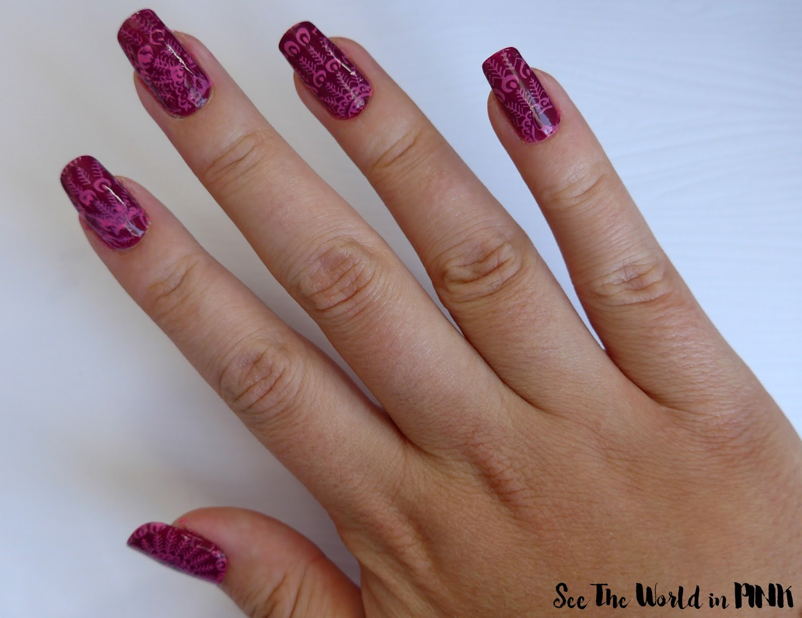 "Manicure Monday - Essie Gel Couture in ""Berry In Love"""