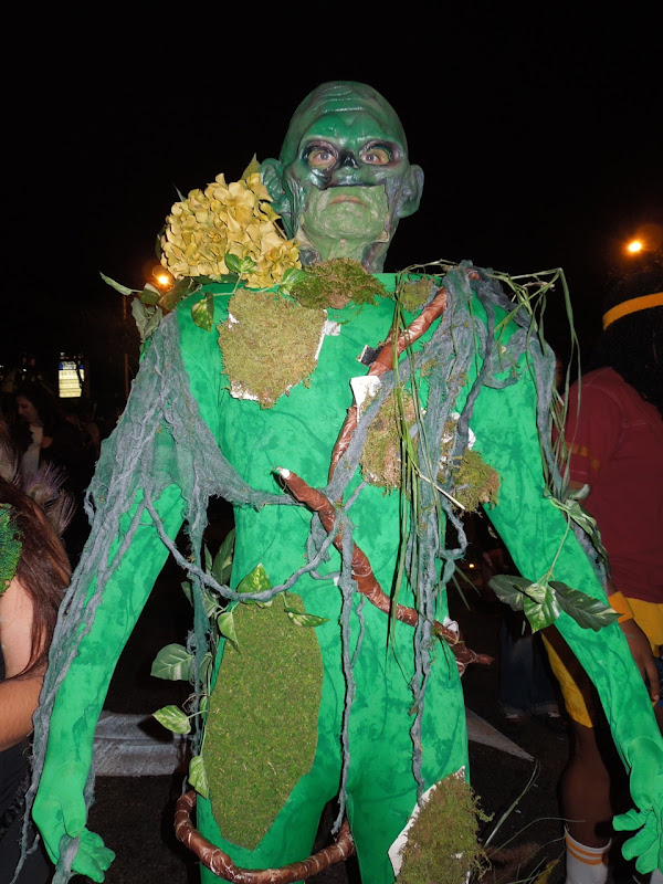 Swamp Thing West Hollywood Halloween Carnaval