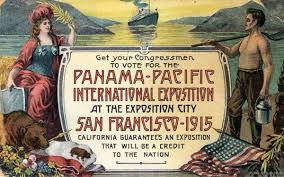 Exposition universelle de 1915 San Francisco image libre de froit