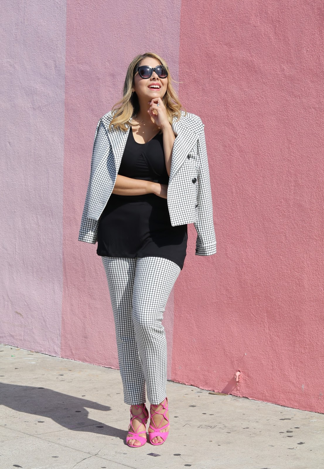 cabi Windowpane Suit, Windowpane Suit, san diego fashion blogger, san diego style blogger, cabi blogger