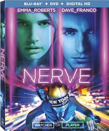 Poster of Nerve 2016 BRRip 720p English 900MB ESubs Watch Online Free Download Worldfree4u