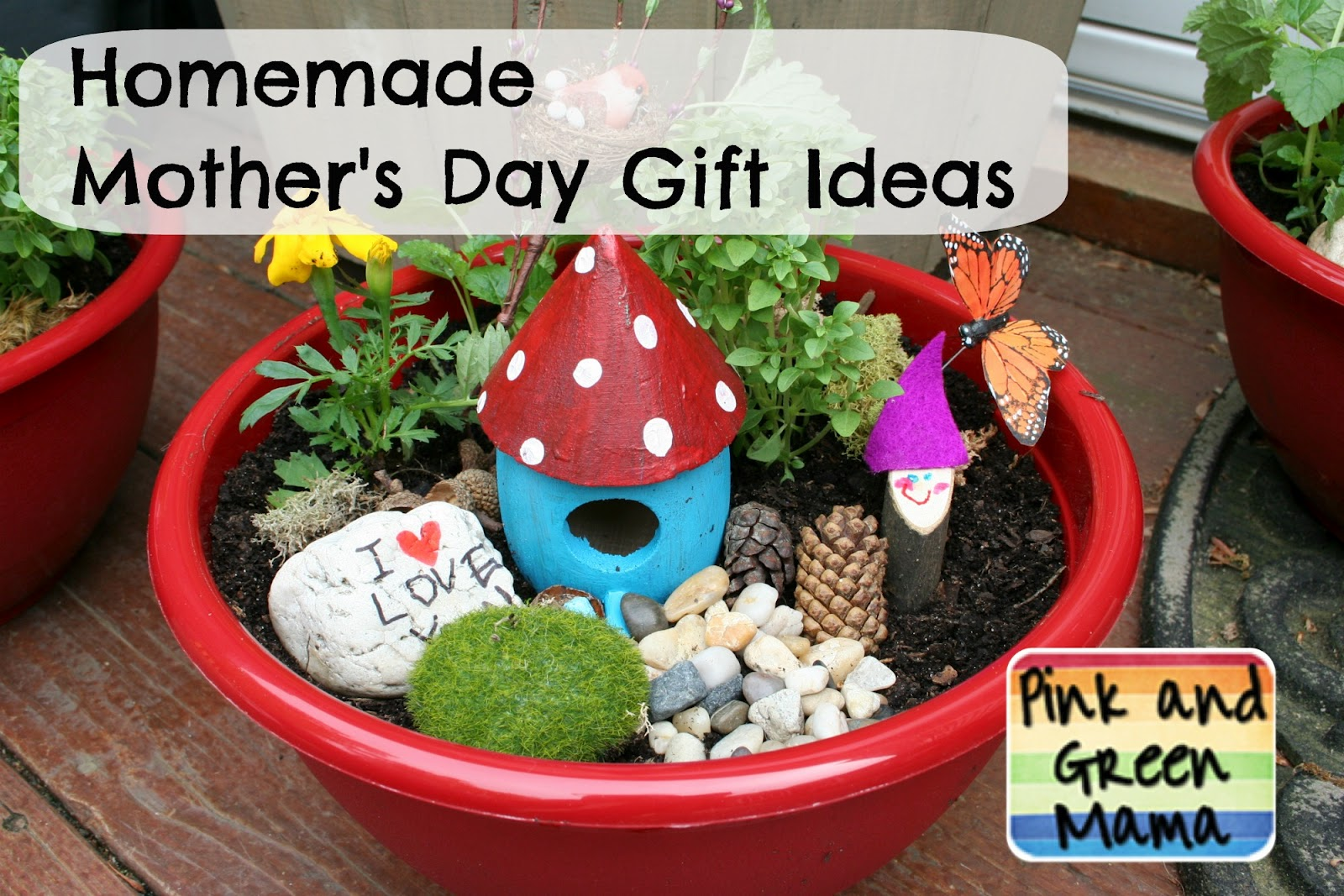 Pink and Green Mama: * Homemade Mother's Day Gift Ideas