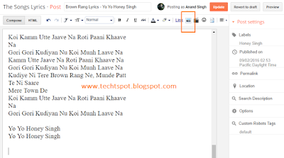 How To Create Image Link In Blogger 1