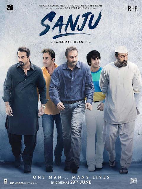 Sanju movie poster