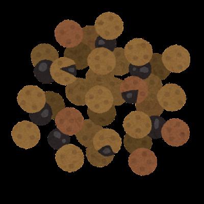 山椒のイラスト(乾燥)