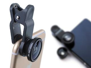 Universal 3-in-1 Lens Kit for Smartphones & Tablets