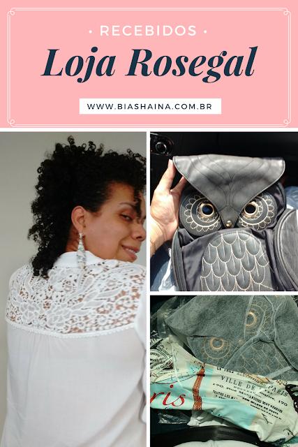 Recebidos Loja Rosegal, parcerias com lojas, blusas de renda, bolsa de coruja, recebidos, meus recebidos, lojas da china, como fazer parcerias