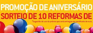 Participar Promoção Aniversário 2016 Telhanorte