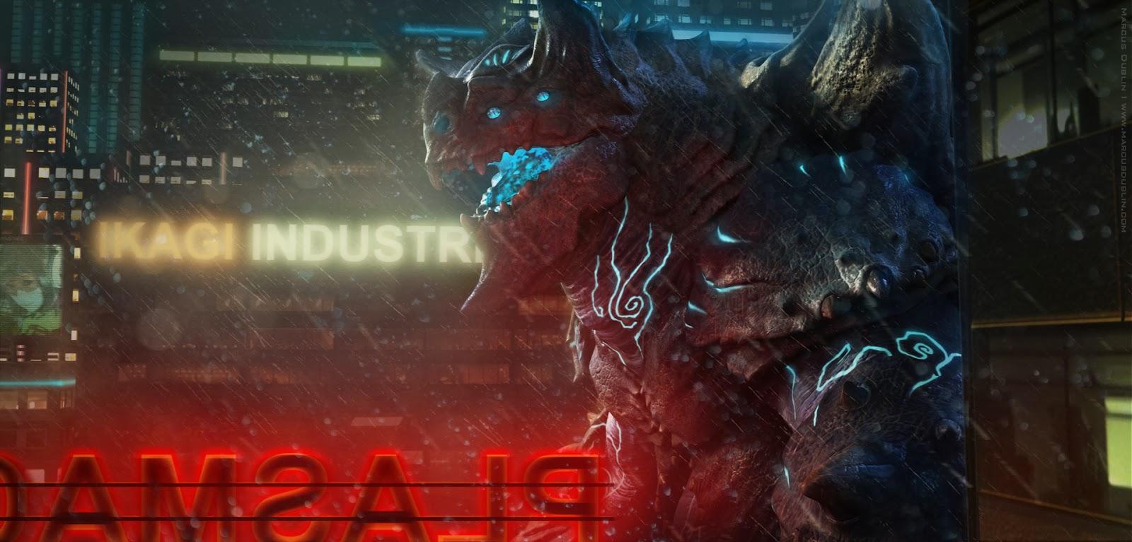 Kaiju Battle: Kaiju Titanus By 3-D Artist Marcus Dublin Pacific Rim Kaiju Category 5
