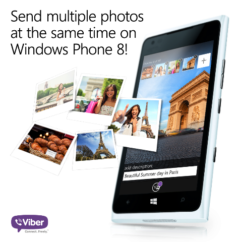 Viber 4.1 for Windows Phone 8