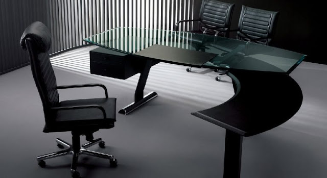 Glass Desks 1