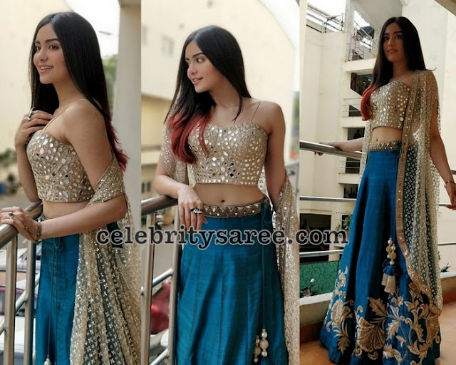 Adah-Sharma-latest-lehengas