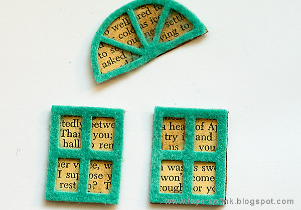 Layers of ink - Felt House Card Tutorial by Anna-Karin with Eileen Hull Sizzix Heartfelt dies