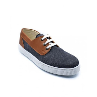 SHOES CLUB حذاء رياضي قماش برباط - أسود في هافان بسعر 99 جنية فقط