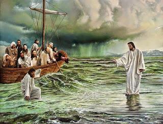 Jesus é o Senhor!: EVANGELHO MATEUS 14, 22-33 -- 19° DOMINGO DO ...