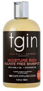 Tgin Moisture Rich Sulfate Free Shampoo