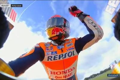 Marquez Amankan Pole MotoGP Australia