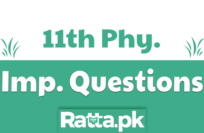 1st Year Physics Important Long Questions Guess Paper 2021