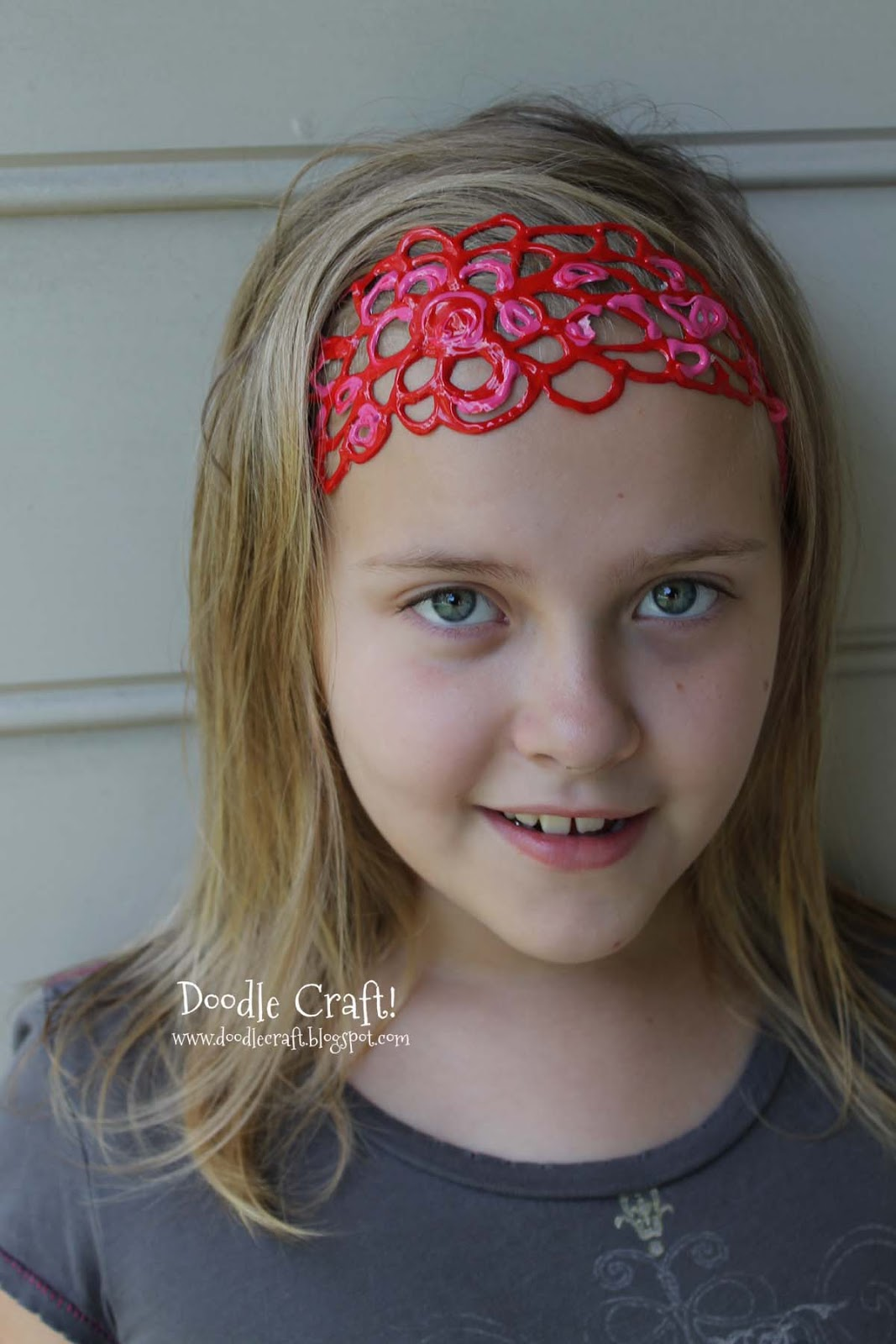 Puffy Paint Bracelets Wristbands and Headbands!
